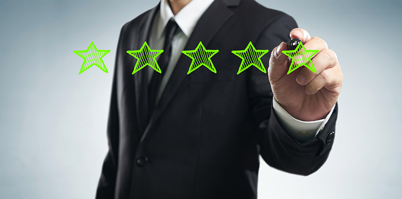 Getting reviews is essential to Local SEO