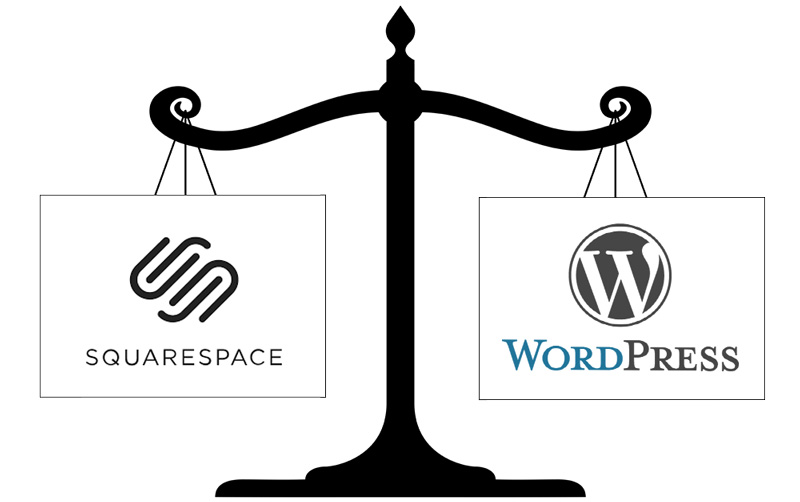 Squarespace or Wordpress for a Interior Design website?